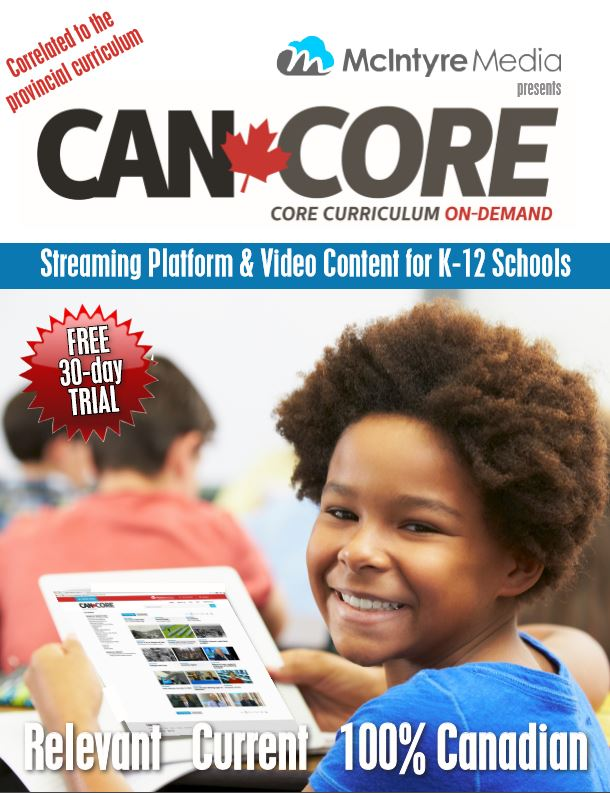 CAN-CORE Curriculum Correlated Video on Demand Service