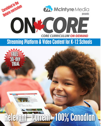 ON-Core Curriculum Correlated Videos on Demand
